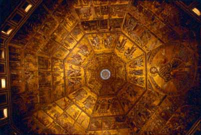 Florence-Baptistry ceiling